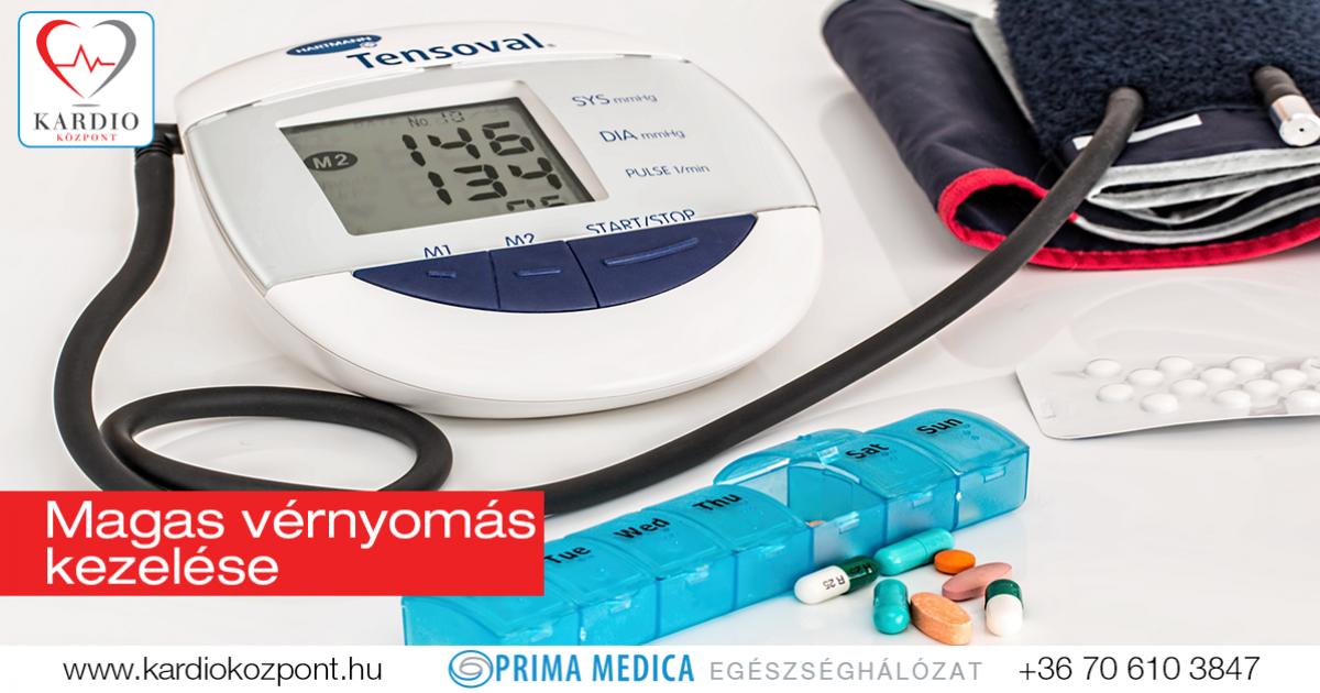 magas vérnyomás és edzőeszközök kezelése