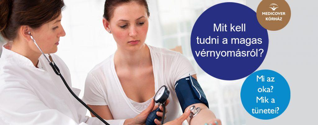 a magas vérnyomás diétájának példái