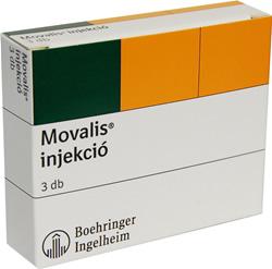 MOVALIS 15 mg tabletta
