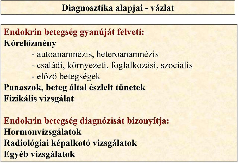 az endokrin hipertónia diagnosztikája