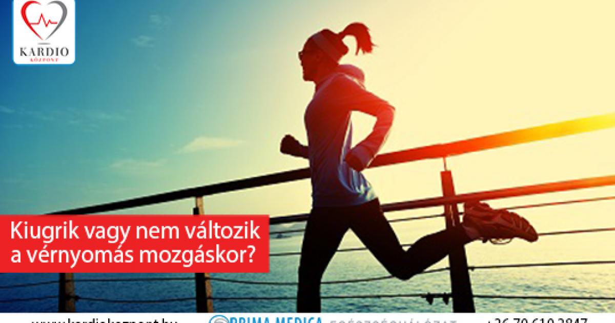 a futás magas vérnyomás esetén hasznos