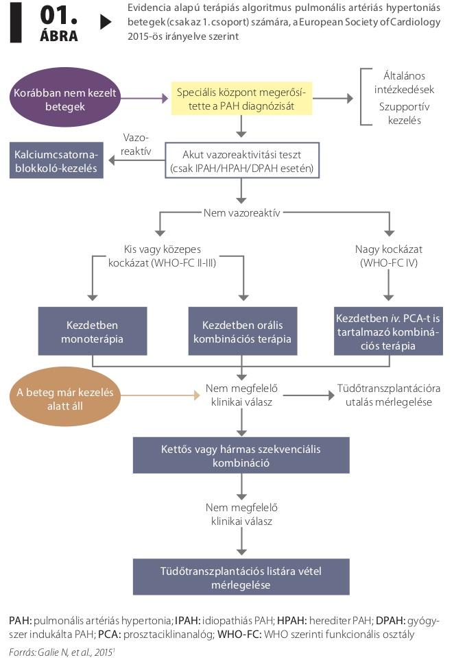 pulmonalis hipertónia szindróma magas vérnyomás kezelése szoptatás alatt