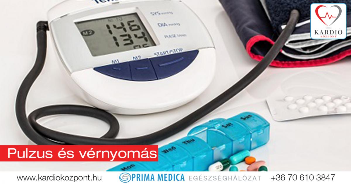 magas vérnyomás fokozott pulzus