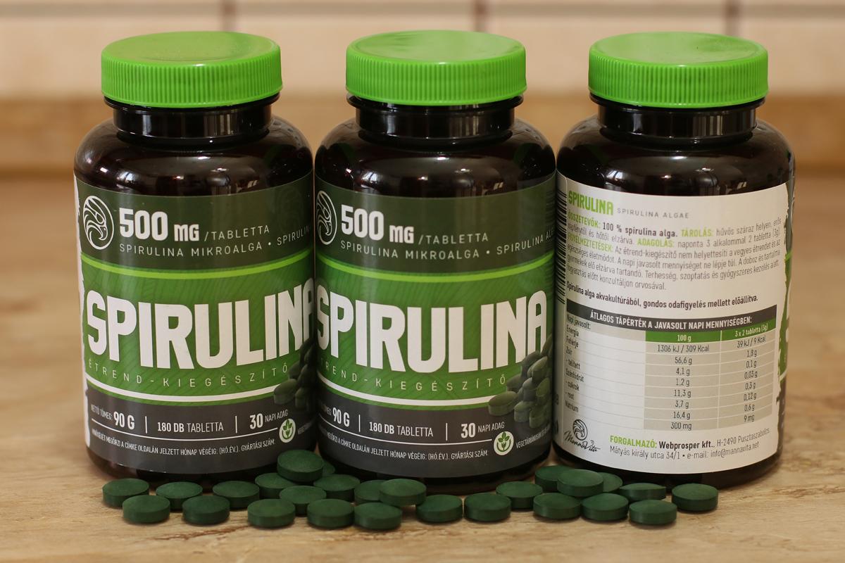spirulina magas vérnyomás esetén stroke magas vérnyomás kezelése