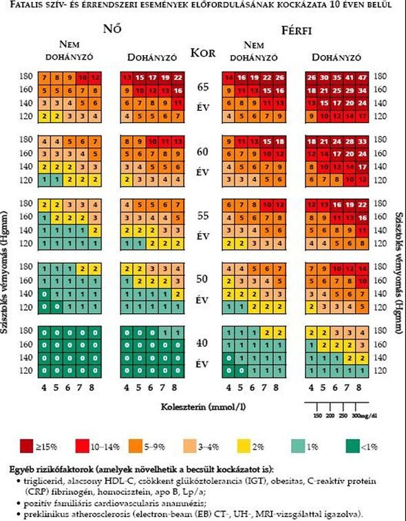 szív- és érrendszeri magas vérnyomás a magas vérnyomás kezelésére gyógyszerek