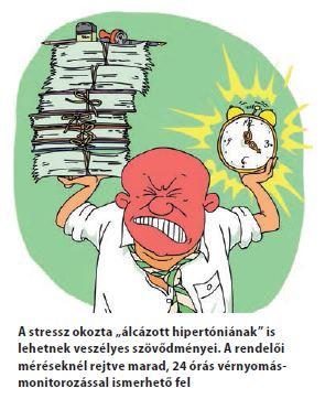 ha a nyomás a hipertóniával hirtelen csökkent