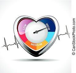 magas vérnyomás és túró