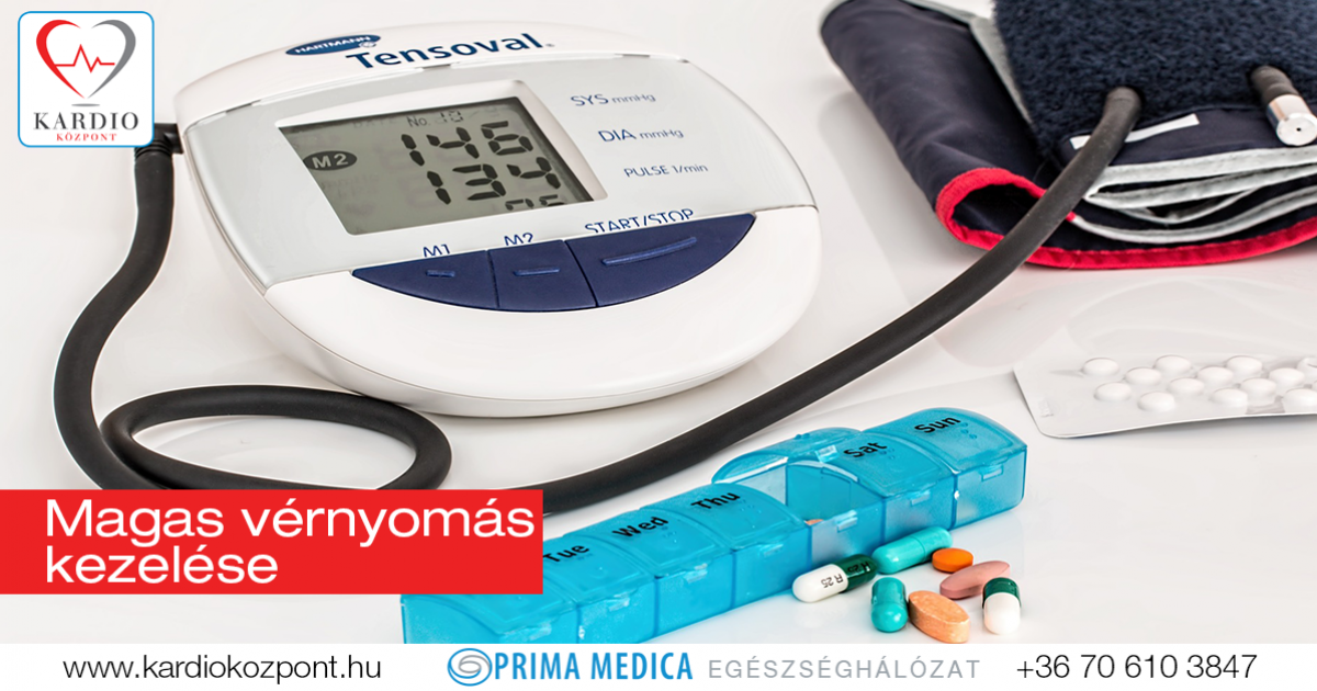 gyógyszer magas vérnyomás kezelés
