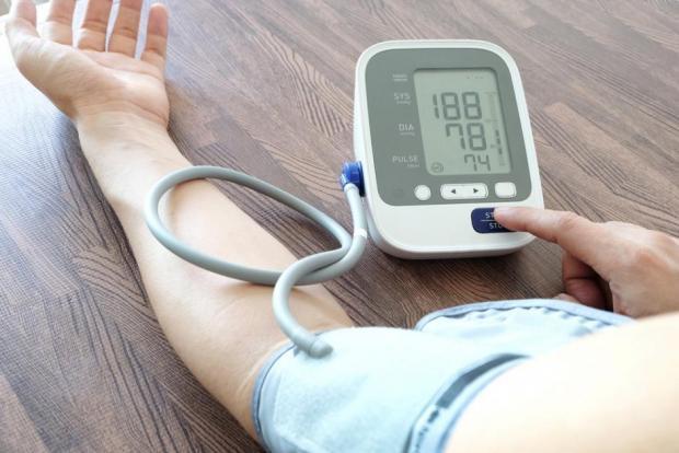 diagnosztizált magas vérnyomás