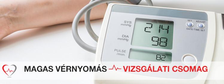 milyen vizsgálatokat végeznek a magas vérnyomás ellen