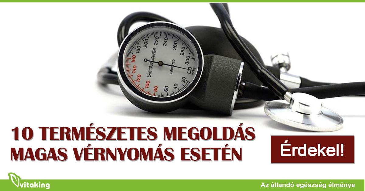 hogyan lehet egészségeset szedni magas vérnyomás esetén