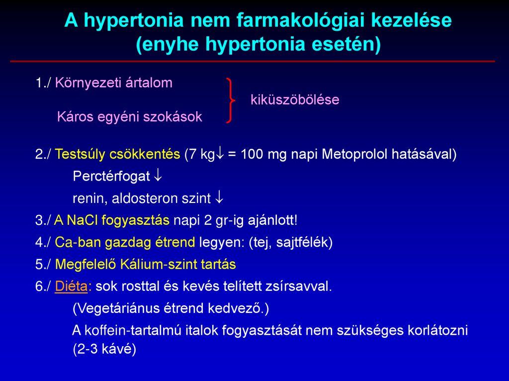 fogyatékos hipertóniát kap