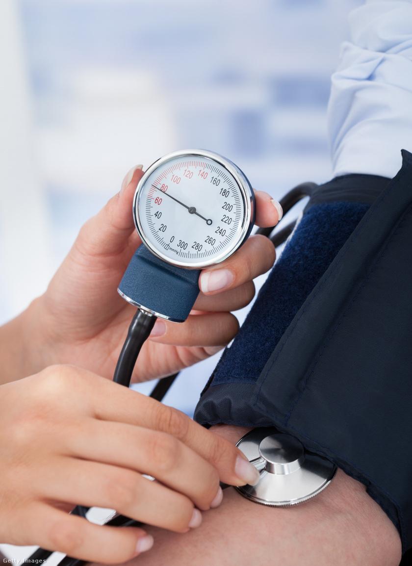 magas vérnyomás egy fiatal férfiban